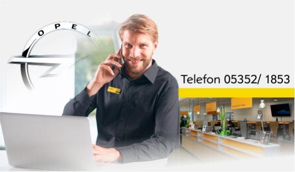 Kontaktieren Sie uns - Rufen Sie uns an 05352/1853 Autohaus Thiede