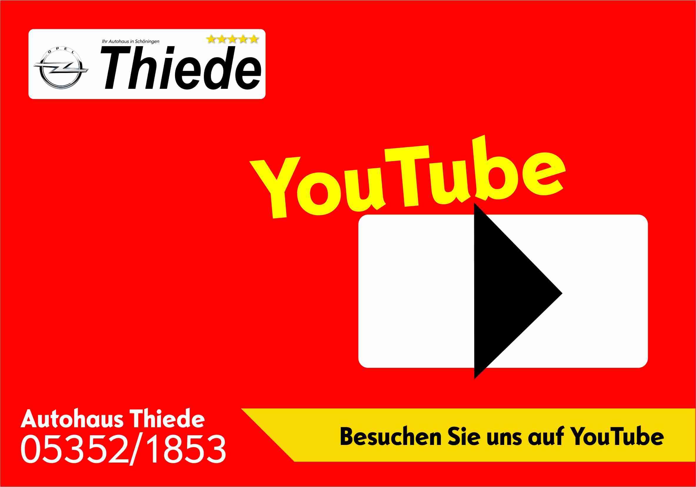 Besuchen Sie das Autohaus Thiede auf seinem eigenem YouTube Kanal