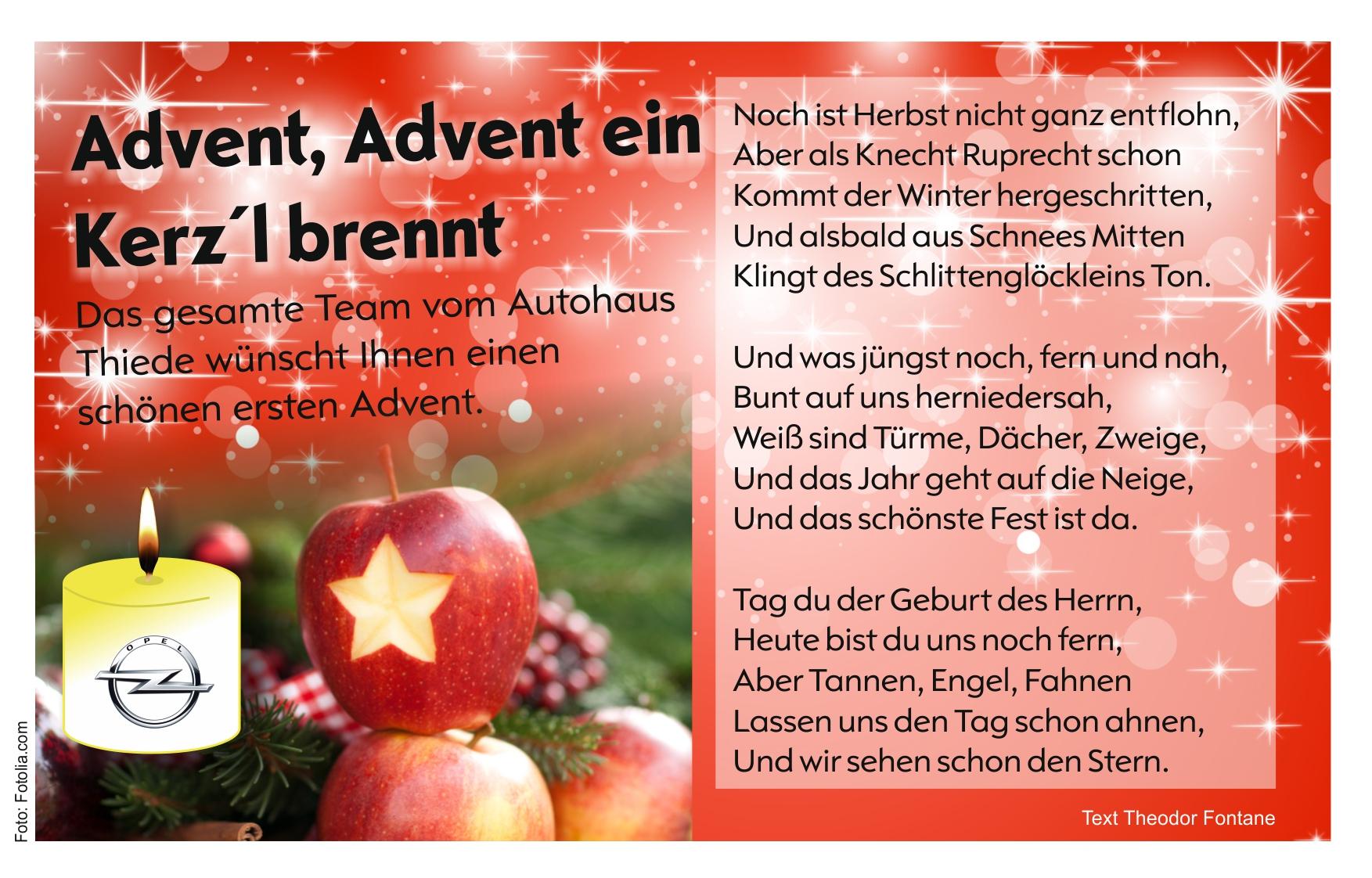 besinnliche gedichte im advent weihnachten in europa. Black Bedroom Furniture Sets. Home Design Ideas