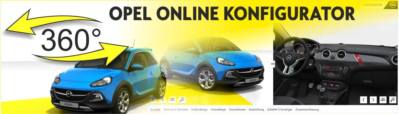Opel Neuwagenkonfigurator online