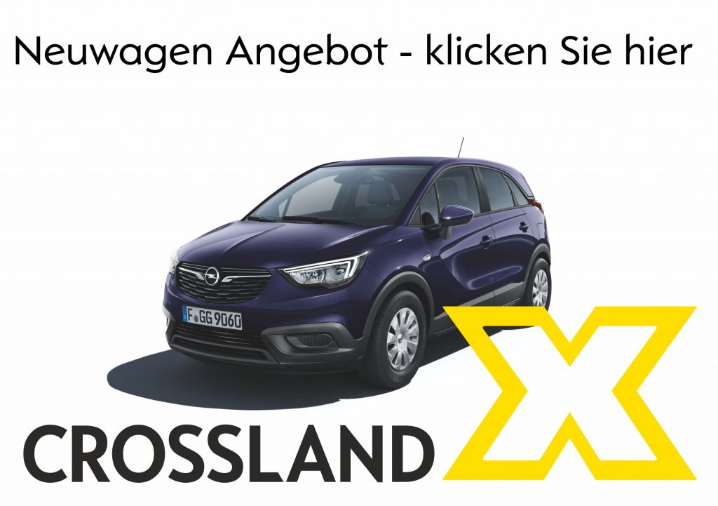 Opel Crossland Neuwagen - jetzt bestellen im Autohaus Thiede in Schöningen 05352/1853