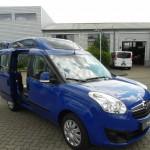 Rostuhlgerechter Umbau Opel Combo Thiede