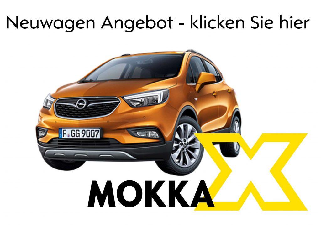 Opel Mokka X Neuwagen - jetzt bestellen im Autohaus Thiede in Schöningen 05352/1853