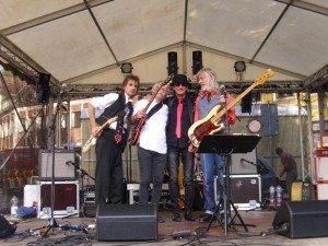 Beat Tones aus Helmstedt zu Gast im Autohaus Thiede in Schöningen