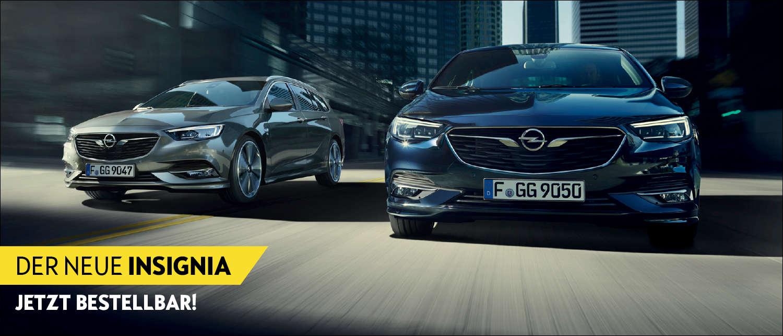 Der neue Opel Insignia jetzt im Autohaus Thiede bestellen