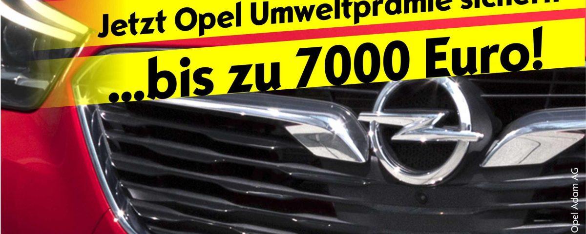 Opel Umweltprämie Bonus für Neuwagen