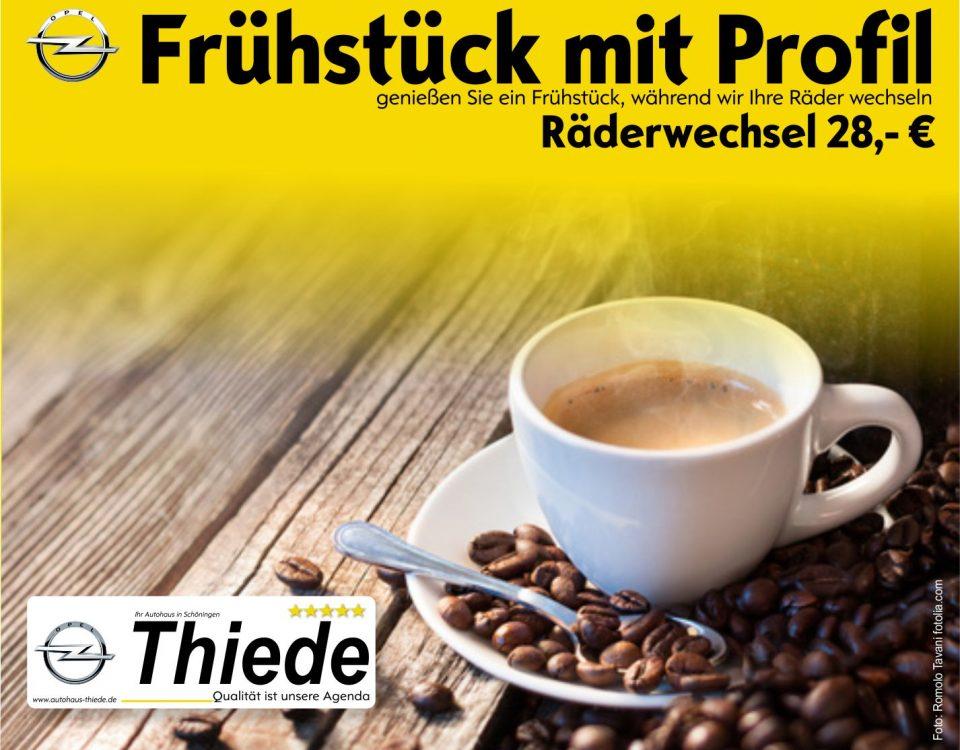 Räderwechsel-Aktion Autohaus Thiede - tauschen Sie Winter- gegen Sommeräder