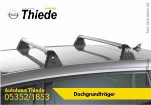 Mietsysteme Dachträger Dachboxen Fahrradträger Opel Autohaus Thiede 05352/1853