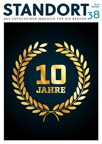 Entscheider Magazin STANDORT38 10 Jahre - inklusive Beitrag zur Autohaus Thiede GmbH in Schöningen Opel Neu-& Gebrauchtwagen