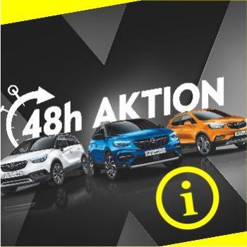 48H Aktion Opel attraktive Raten mit Null Zinsen nur zu einer bestimmten Zeit! Opel Thiede Neuwagen in Schöningen