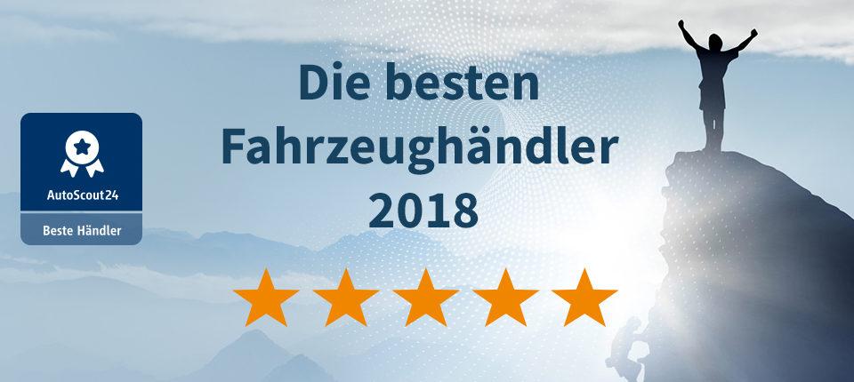 Autohaus Thiede ist einer der besten Fahrzeughändler 2018