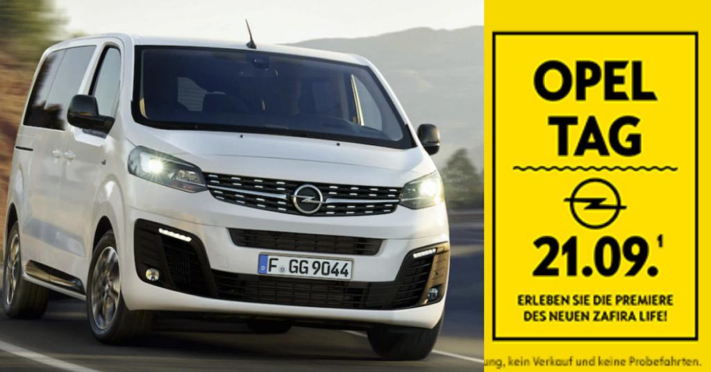 Opel ta am 21 . September im Autohaus Thiede Schöningen