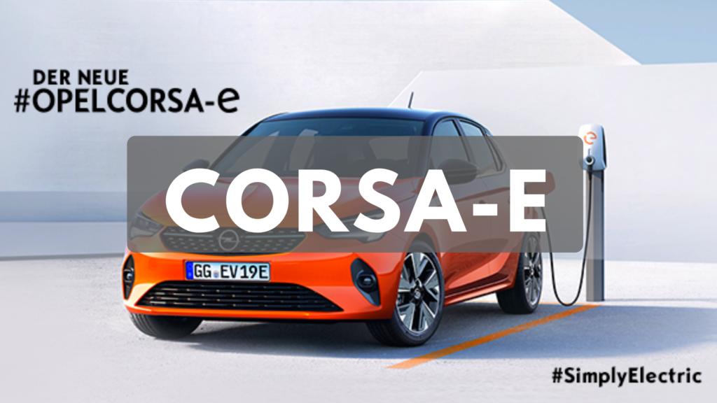 Der neue Opel Corsa e, elektro Corsa, elektrischer crosa bei autohaus thiede