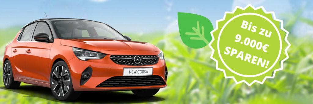 Opel Corsa-e günstig kaufen bei Autohaus Thiede. Opel Green Deal.