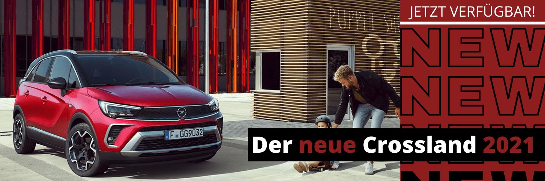 Der neue Crossland Facelift 2021 bei Autohaus Thiede.