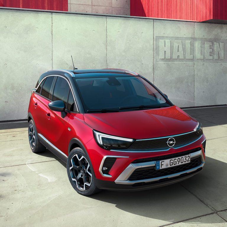 Opel Crossland facelift im Autohaus Thiede in Schöningen.